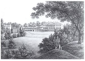 William Warburton - Prior Park, Warburton's home from 1745