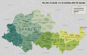 Administrative divisions of Nazi Germany - Government district within the protectorate.