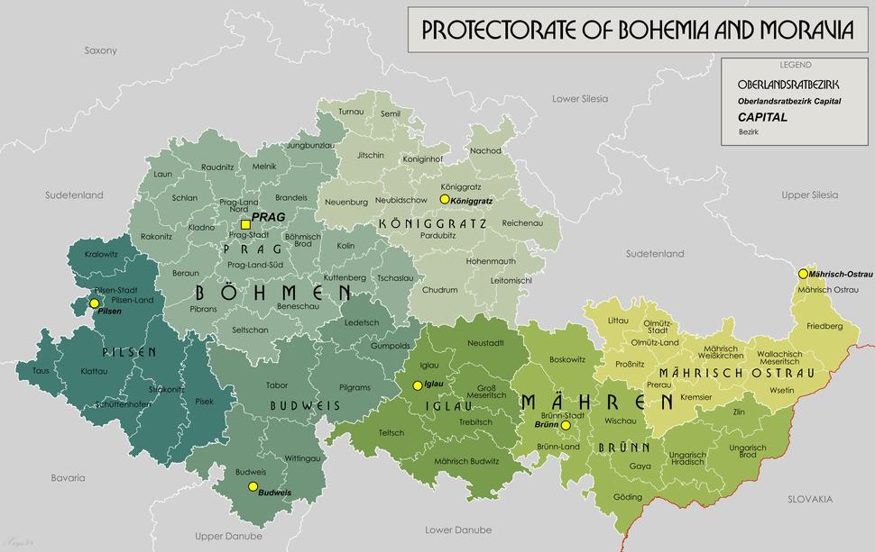 Protectorate Of Bohemia and Moravia