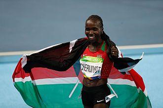 Athletics at the 2016 Summer Olympics – Women's 5000 metres - Image: Provas de Atletismo nas Olimpíadas Rio 2016 (28491025163)