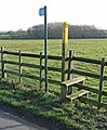 Public Footpath to Sharnford - geograph.org.uk - 663872.jpg