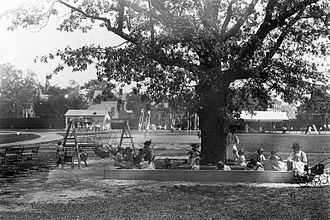 East Orange, New Jersey - Public playgrounds in East Orange, 1908
