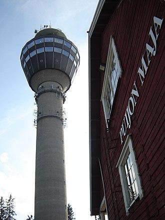 Puijo tower - Image: Puijo