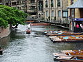 Punting on the Cam, Cambridge, England - DSCF2203.JPG
