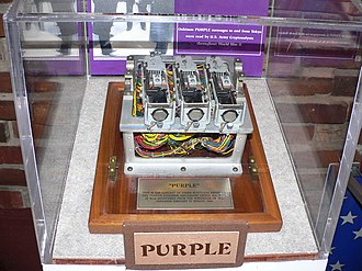 Ultra - Image: Purple code machine 2