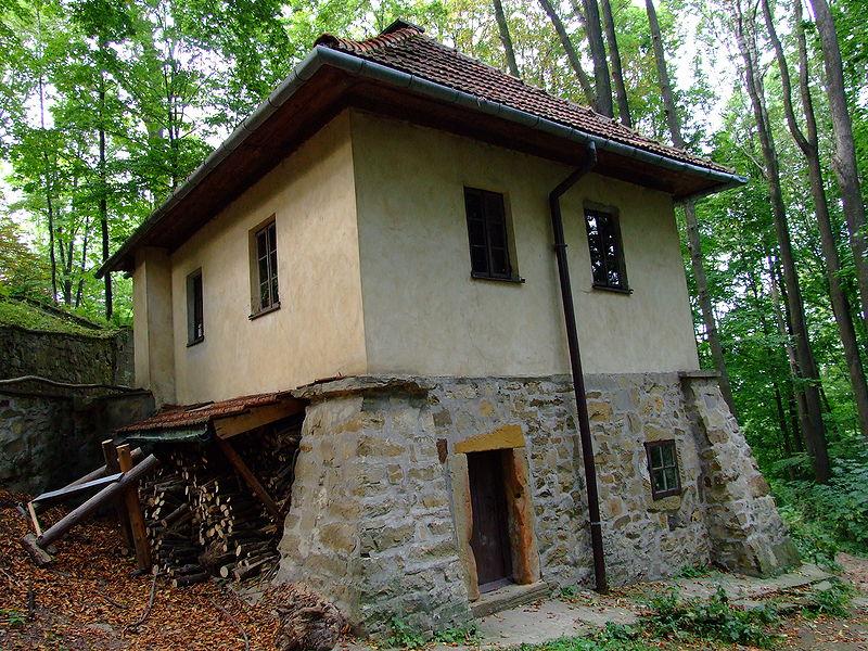 Pustelna św. Heleny należąca do Dróżek w Kalwarii Zebrzydowskiej.JPG