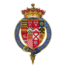 Quartered arms of Sir Edward Manners, 3rd Earl of Rutland, KG.png