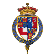 Quartered arms of Sir Edward Somerset, 4th Ear of Worcester, KG.png