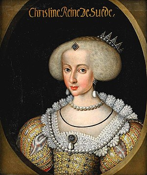 Christina, Queen of Sweden - The 14-year-old Christina as queen