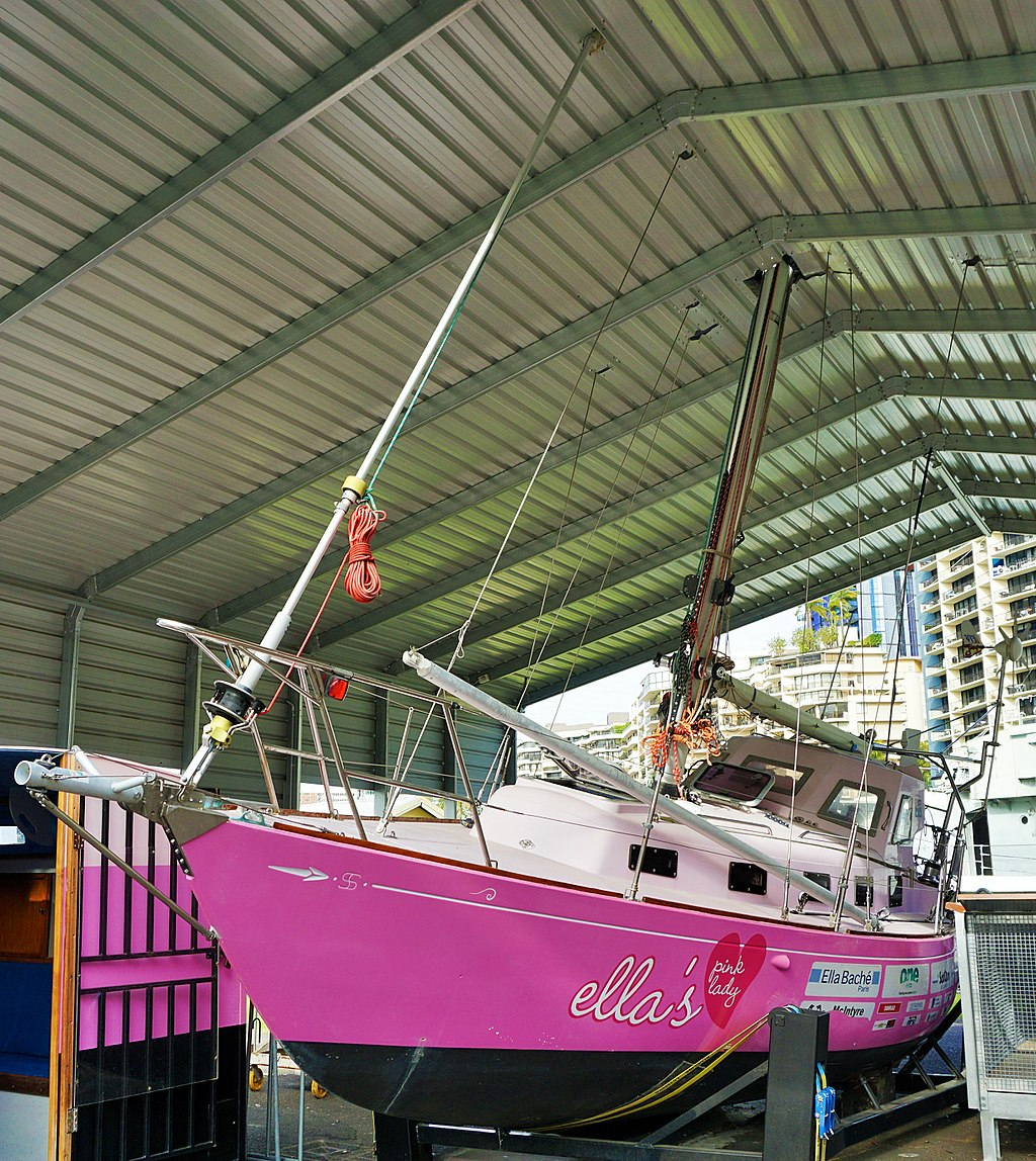 Queensland Maritime Museum - Ella's Pink Lady
