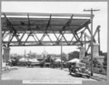 Queensland State Archives 3452 South approach steel span No 3 across wharf street Brisbane 1 March 1937.png