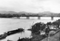 Queensland State Archives 77 Brisbane River in flood 6 February 1931.png