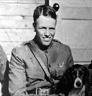 Quentin Roosevelt - Lt. Quentin Roosevelt in the 95th Aero Squadron, WWI in France.
