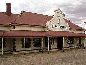 Quorn, South Australia - Quorn railway station
