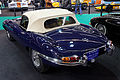 Rétromobile 2011 - Jaguar type E série 1 4,2 L - 1966 - 006.jpg