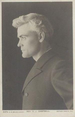 Reginald John Campbell - R J Campbell in 1903