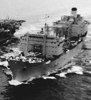 RFA Resource (A480) - Image: RFA Resource (A480) in September 1969 (cropped)