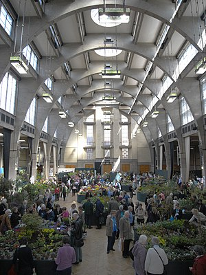 Royal Horticultural Society - London flower show in Lawrence Hall