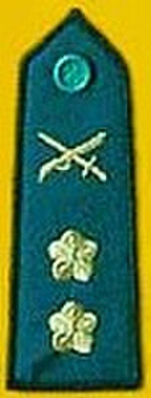 Xiao (rank) - Image: ROCA LTCOL