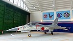 ROCAF F-CK-1A 1407 Display in Hangar of Ching Chuang Kang AFB 20161126.jpg