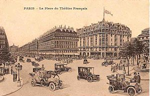 Rue de Richelieu - The Royal Palace Hôtel -inaugurated in 1909