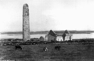Inis Cathaigh - The ruins in 1902