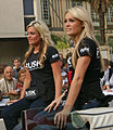 RUSK Girls - 24 Hours of Le Mans drivers parade - 12 June 2009.jpg
