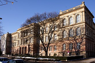RWTH Aachen University - Main Building of the RWTH Aachen. It was built in 1870.