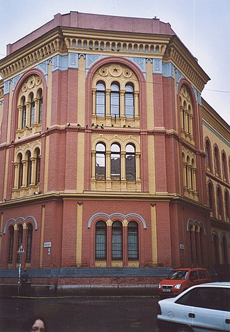 Budapest University of Jewish Studies - The Budapest University of Jewish Studies, formerly the Rabbinical Seminary.