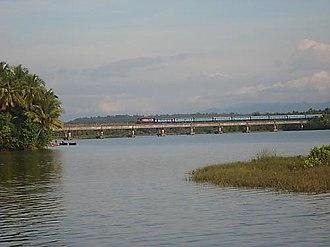 Honnavar - A railway bridge near the town