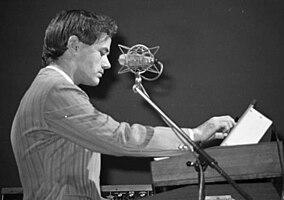 Ralf Hütter por Ueli Frey, 1976