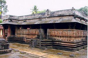 Keladi - Rameshwara Temple, Hoysala-Dravida style, Keladi Nayaka period