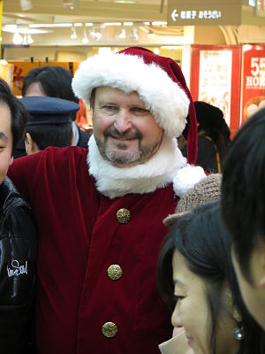 Randy Bass - Senator Randy Bass at a promotional event in Japan, December 2013