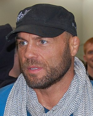 Randy Couture - At the Arnold Sports Festival for WEC 47 on March 6, 2010.
