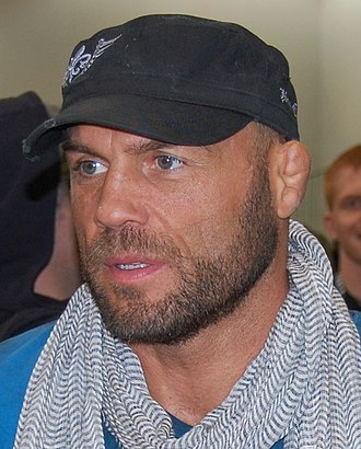 Randy Couture - At the Arnold Sports Festival for WEC 47 on March 6, 2010