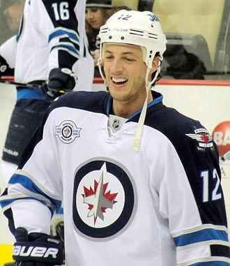 Randy Jones (ice hockey) - Jones with the Jets in 2012.