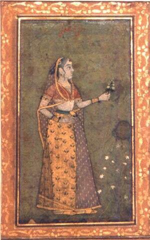 Rani Durgavati - Portrait of Durgavati