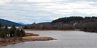 Rapides-des-Joachims Municipality in Quebec, Canada