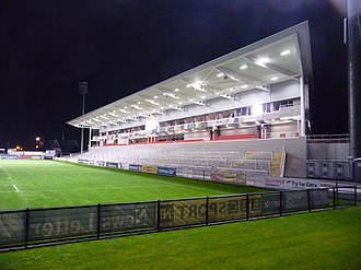 Pottinger (District Electoral Area) - New stand at the Kingspan Stadium, home of the Ulster Rugby team.