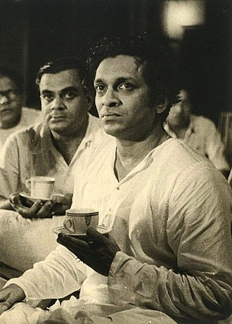 Asian Music Circle - Ravi Shankar, pictured in Bombay during the recording of his score for the 1955 film Pather Panchali