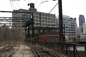 Callowhill, Philadelphia - Reading Viaduct in the Callowhill neighborhood