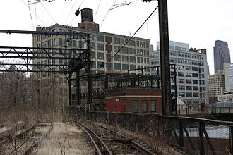 Callowhill, Philadelphia - Reading Viaduct in the Callowhill neighborhood