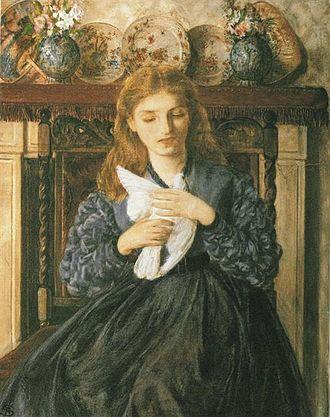 Rebecca Solomon - Image: Rebecca Solomon The Wounded Dove