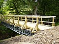 Rebuilt footbridge in upper Farndale - geograph.org.uk - 207429.jpg