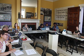 Recognizing Black Suffragists A Wikipedia Editing Workshop 8003.jpg