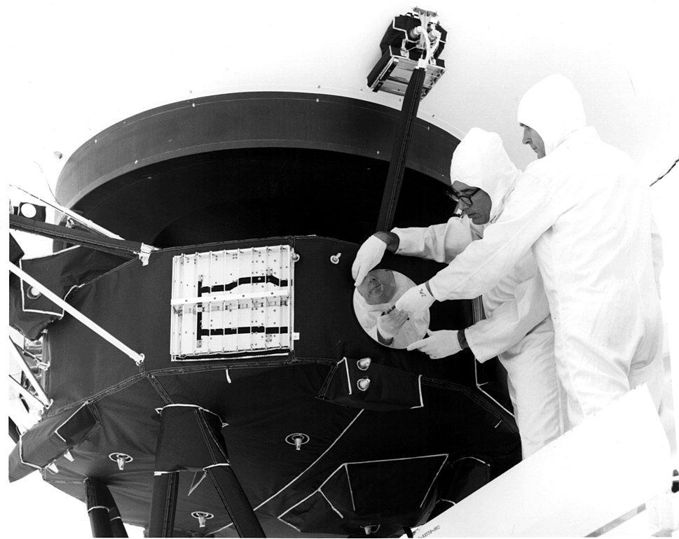 Record is attached to Voyager 1
