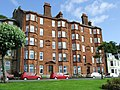 Red sandstone tenement - geograph.org.uk - 471238.jpg