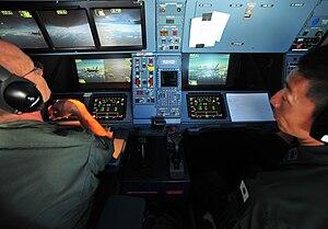 Airbus A330 MRTT - RAAF KC-30A refuelling control station