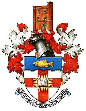 Regent's Park College, Oxford - Regent's Park College, Oxford's coat of arms
