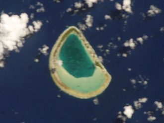 Reitoru - NASA picture of Reitoru Atoll